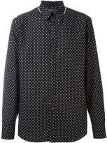 Alexander McQueen mini skull shirt - men - Cotton - 41
