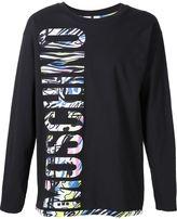 Moschino logo print sweatshirt - men - Cotton - 44