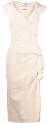 Le Petite Robe Di Chiara Boni Off-Shoulder Midi Dress