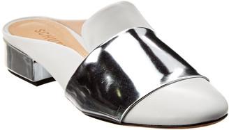 Schutz Eunice Leather Slide