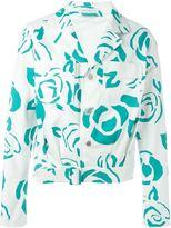 J.W.Anderson floral patch pocket jacket - men - Cotton/Cupro - 48