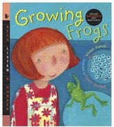 Candlewick Press Growing Frogs with Audio (Book + CD)