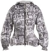 adidas by Stella McCartney Run Excl python-print performance jacket