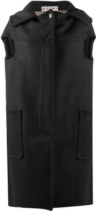 Marni Oversized Sleeveless Coat