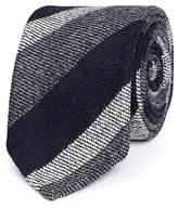 Drakes Drake's Stripe wool tie