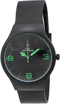 Toy Watch ToyWatch Black Mesh Bracelet Watch, Green