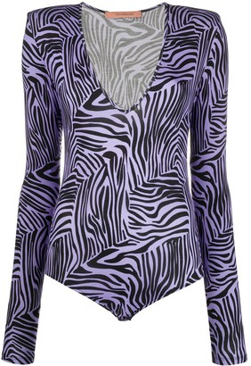 Andamane Zebra Print Body