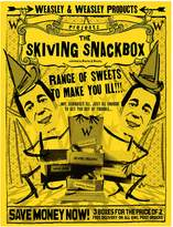 Harry Potter Skiving Snackbox Print, Yellow