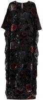 ADAM by Adam Lippes Floral devoré gown