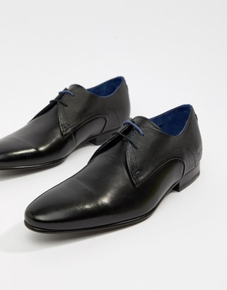 Ted Baker Peair derby shoes in black leather