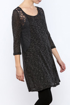Monoreno Knit Sweater Tunic