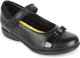 Clarks Daisy locket matte leather shoes 6- 7 years