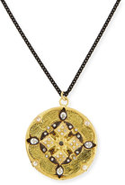 "Armenta Diamond Shield Pendant Necklace, 30""L"