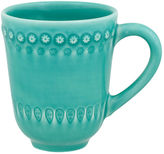 One Kings Lane Fantasy Mug, Turquoise