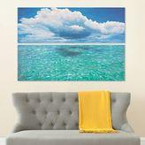 Safavieh 2-piece ''Caribbean Sea'' Diptych Canvas Wall Art Set