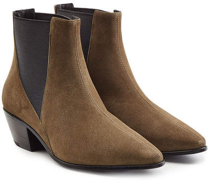 Anine Bing Anja Suede Ankle Boots