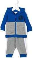 Little Marc Jacobs colour block tracksuit - kids - Cotton/Polyester/Spandex/Elastane - 12 mth