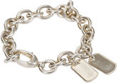 One Kings Lane Vintage Gucci Sterling Chain Bracelet w/ Tags