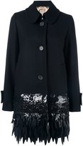 No.21 embellished mid coat