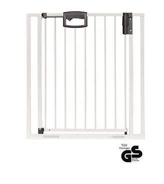 Geuther Door Safety Gate Easy Lock (Metallic, Range of Adjustment 80.5 - 88.5cm)