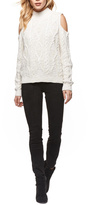 Dex Cold Shoulder Knit Sweater