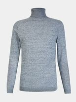 Burton Burton Grey Roll Neck Knitted Jumper