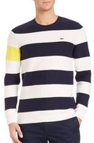 Lacoste Nautical Thick Stripe Sweater