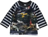 Molo Infant Boy's Raglan Sleeve Graphic T-Shirt