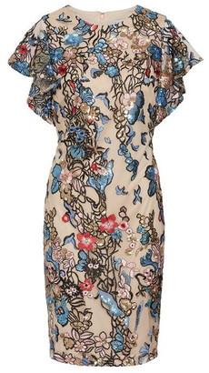 Gina Bacconi Annamaria Sequin Dress