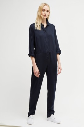 French Connection Tandy Button Jumpsuit