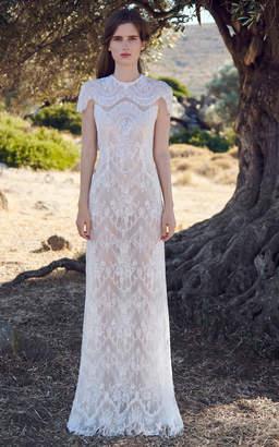Costarellos Cosima Lace Gown