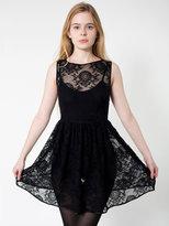China Lace Sleeveless Dress