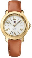 Tommy Hilfiger Gold Mirror Dial Watch