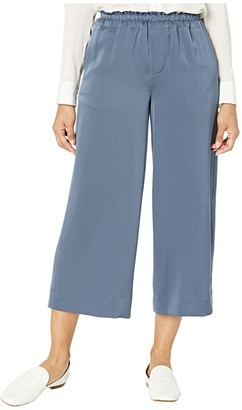 Vince Pull-On Culotte (Deep Azul) Women's Casual Pants