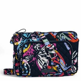 Vera Bradley Iconic Rfid Little Hipster Signature Cotton