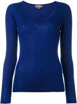 N.Peal cashmere superfine V-neck jumper - women - Cashmere - S