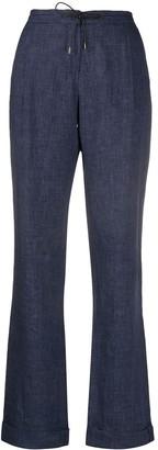 Loro Piana Straight-Leg Drawstring Trousers