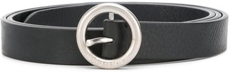 Maison Margiela Numerical Logo round-buckle belt