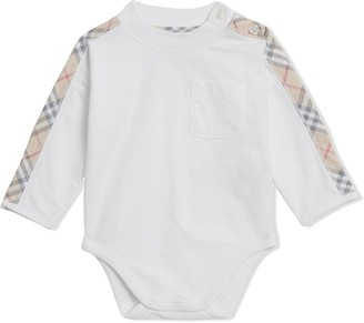 BURBERRY KIDS Check Cotton Three-piece Baby Gift Set