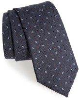 Canali Men's Dotted Wool & Silk Tie