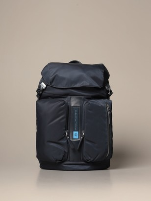 Piquadro Pq-bios Backpack In Regenerated Nylon For Computer