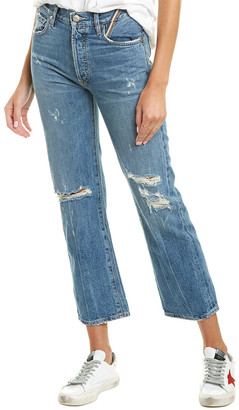 Jean Atelier Laurent Medium Blue High-Rise Straight Leg