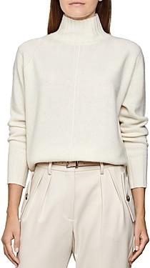Reiss Bonnie Mock Neck Sweater