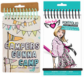 Fashion Angels 'Campers Gonna Camp' Journal & Coloring Book Set