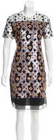Peter Pilotto Silk Embellished Dress