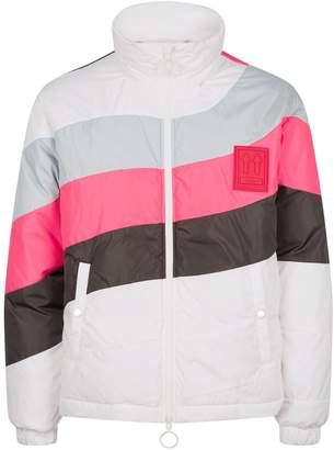 Off-White Off White Stripe Puffer Jacket