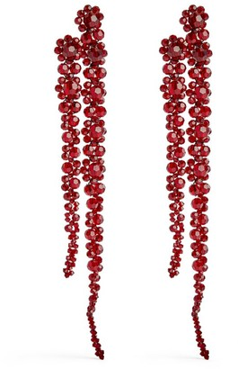 Simone Rocha Double Drip Crystal-Embellished Earrings
