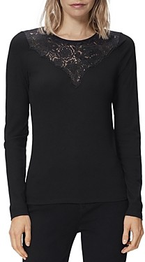 Paige Adalee Illusion Lace Top