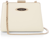 Lanvin Le Petit Sac leather box clutch
