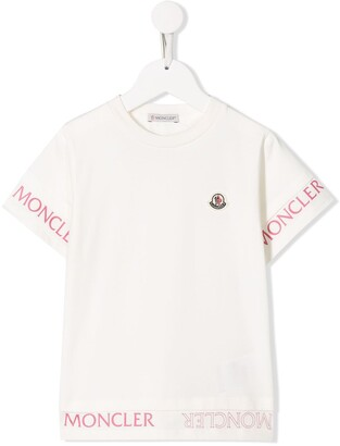 Moncler Enfant logo-print T-shirt